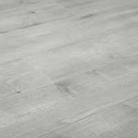 "BuildDirect Ultra Grey 12mm 48"" X 6.7"" Laminate Flooring (26.68sq. ft. per box)"