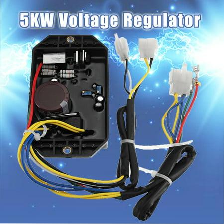 5kw Diesel Generator Voltage Regulator AVR for KiporKama KDE5000 KDE6500 KDE6700
