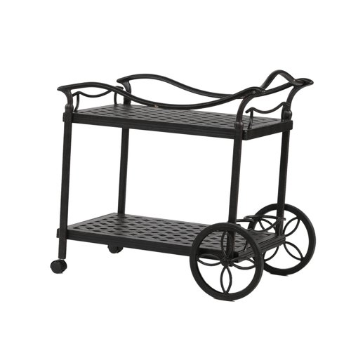 Darby Home Co Germano Bar Serving Cart by