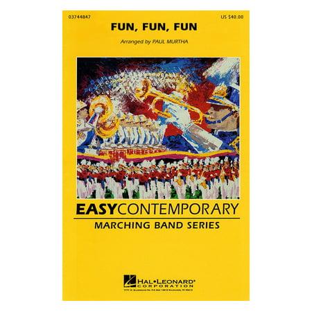 Hal Leonard Fun, Fun, Fun Marching Band Level 2-3 by The Beach Boys Arranged by Paul Murtha (Fun The Band)
