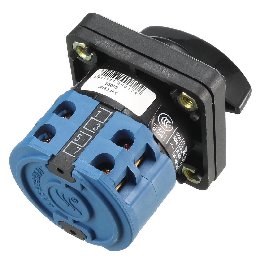 Cam Changeover Switch 3 Positions Rotary Selector Switch 12 Terminals LW26-20 - image 2 of 4