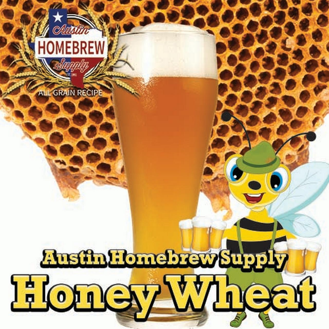 Austin Homebrew Honey Wheat (6D) - ALL GRAIN