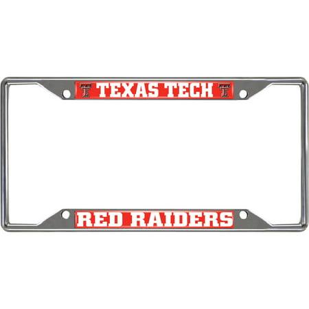 Texas Tech University License Plate (Texas Tech Logo Plate)