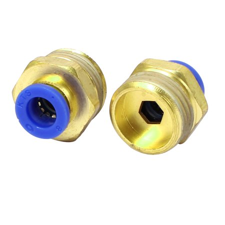 20mm Dia Thread Industry Pipe Tube Quick Connecting Joiner Fittings 2pcs - image 1 of 1