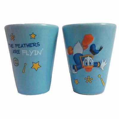 disney parks wdw donald duck the feathers are flying 2 oz shot glass new