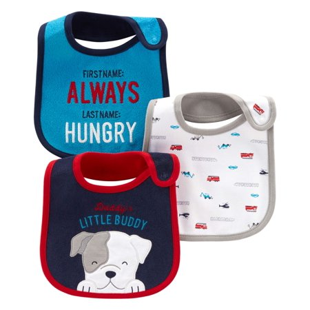 Child Of Mine By Carter's Bibs, 3-pack (Baby Boys)