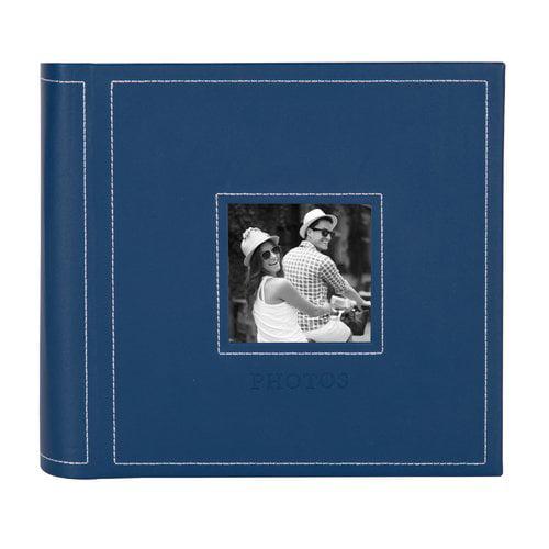 Red Barrel Studio Embossed Flourish Faux Leather Photo Album (Set of 4)