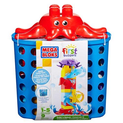 Mega Bloks First Builder Build 'n Splash Play Set