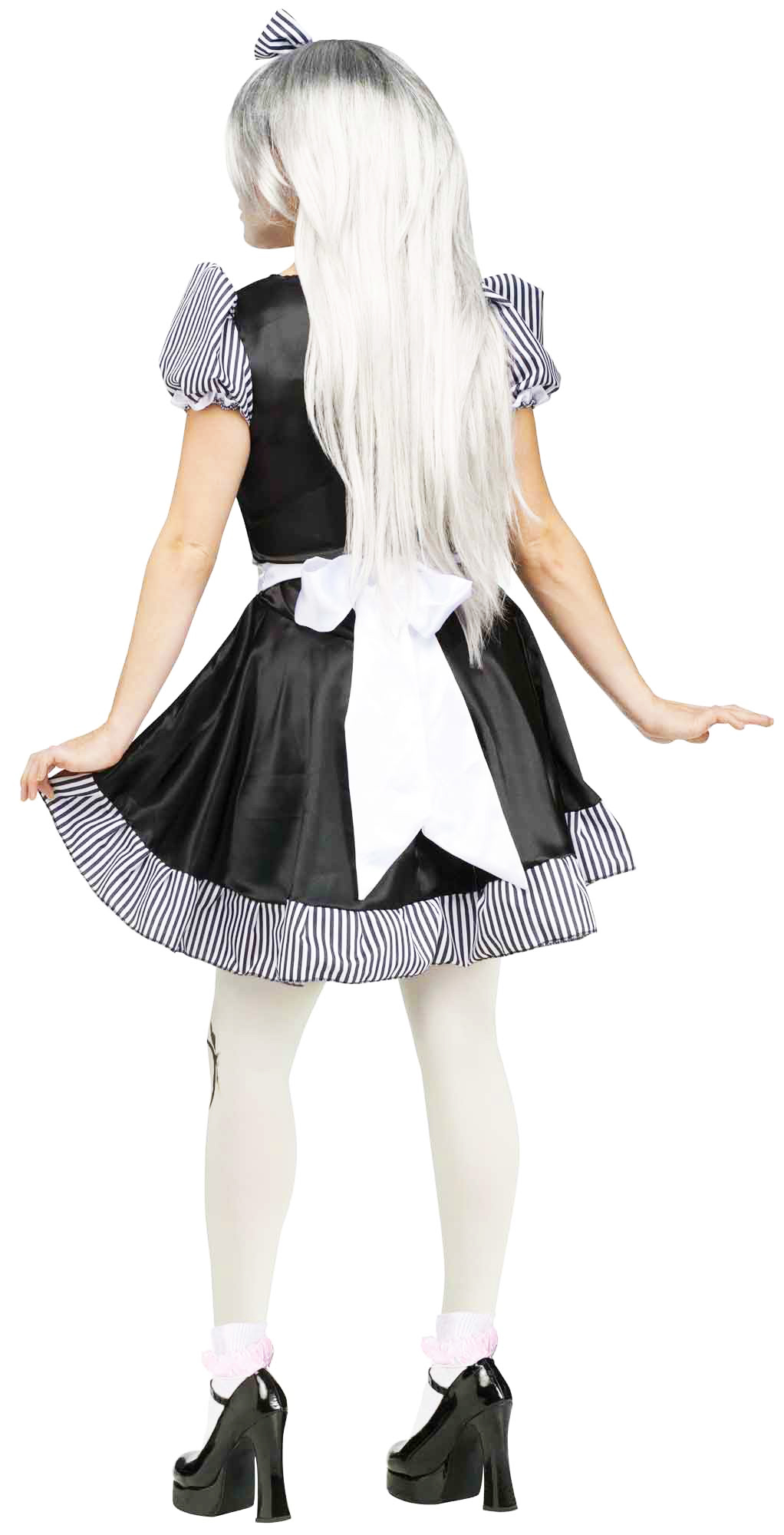 63d44e4310b Broken Doll Adult Halloween Costume - Walmart.com