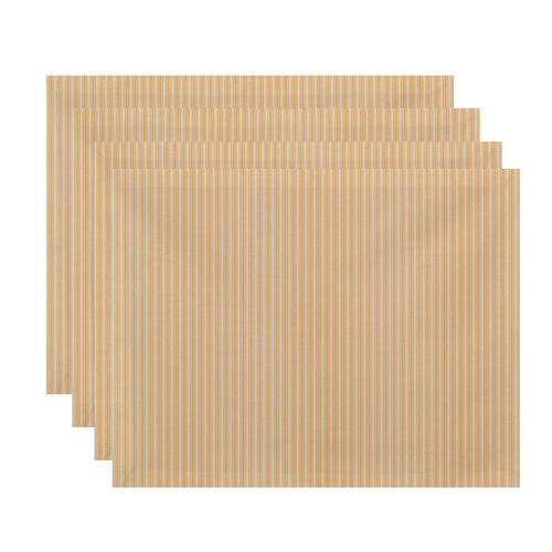 Gracie Oaks Laymon Ticking Stripe Placemat (Set of 4)