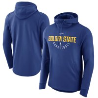 Golden State Warriors Nike Practice Pullover Performance Hoodie - Royal