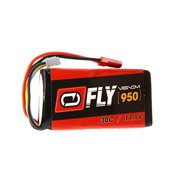 Venom Fly 30C 3S 950mAh 11.1V LiPo Battery with JST Plug