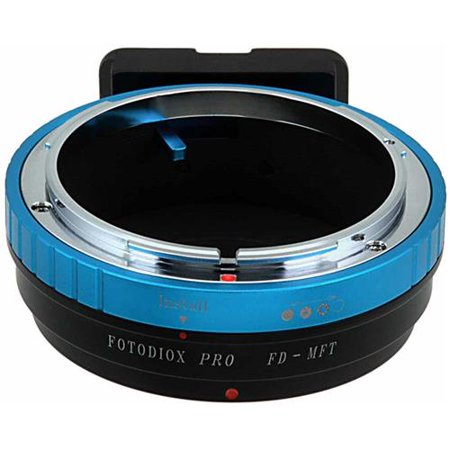 Fotodiox Mount Adapter for Canon FD Lens to Micro Four Thirds Mount Mirrorless Camera (Four Thirds Mount Adapter)