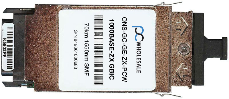 Cisco Compatible ONS-GC-GE-ZX 1000BASE-ZX GBIC Transceiver by Cisco