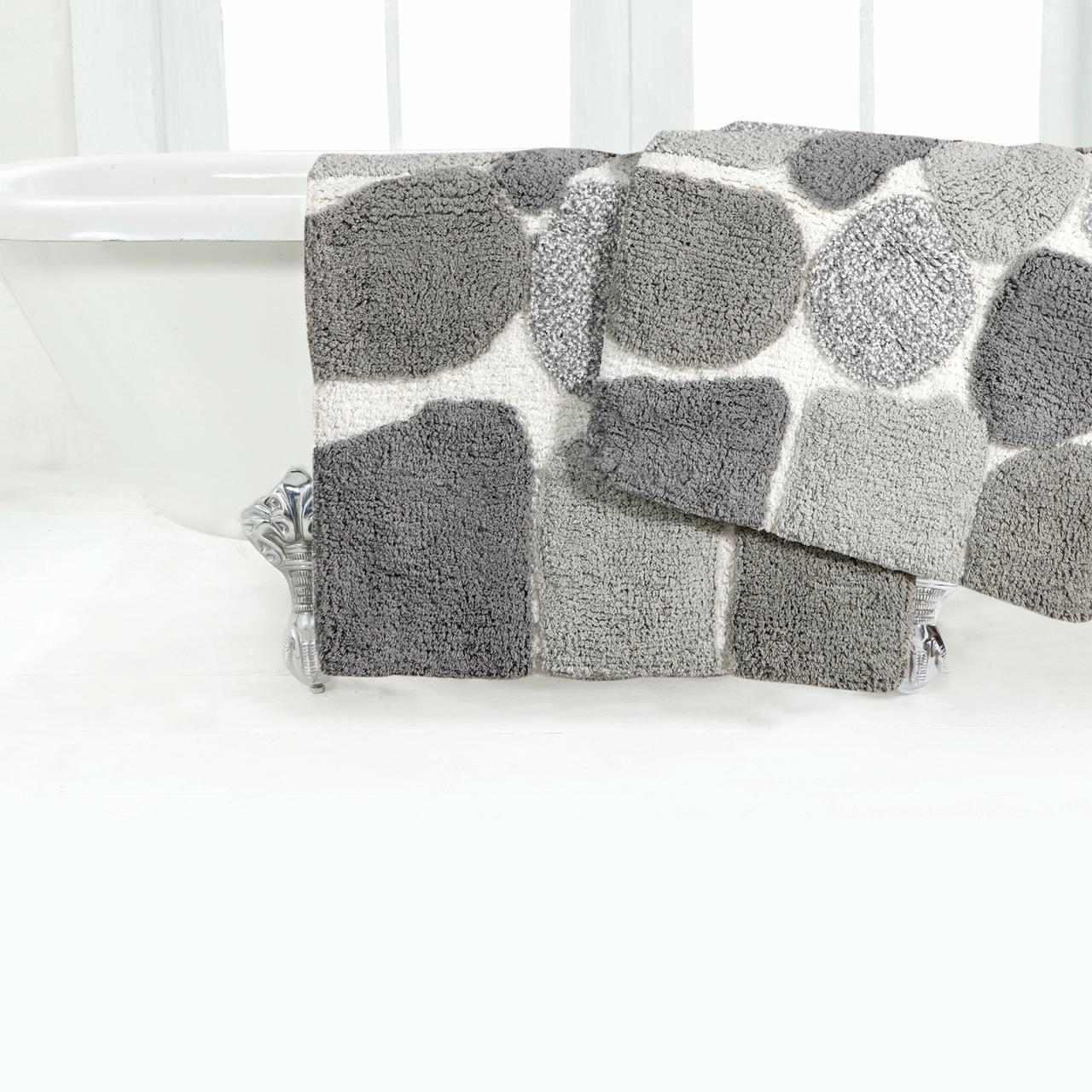 Chesapeake Merchandising Pebbles 2-pc. Bath Rug Set by Chesapeake Merchandising Inc.