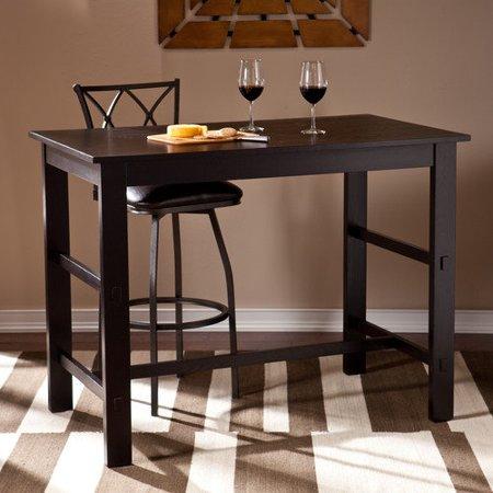 Sauder Furniture Edge Water Estate Black Counter Height Dining Table