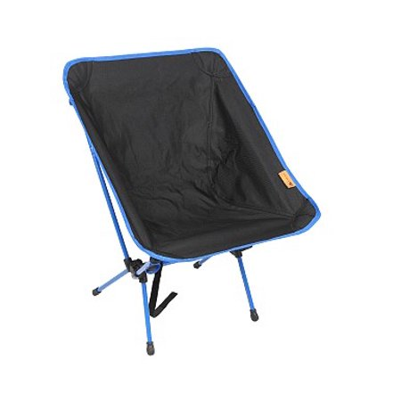 Ozark Trail Lightweight Weather-Resistant Backpacking Chair, Black