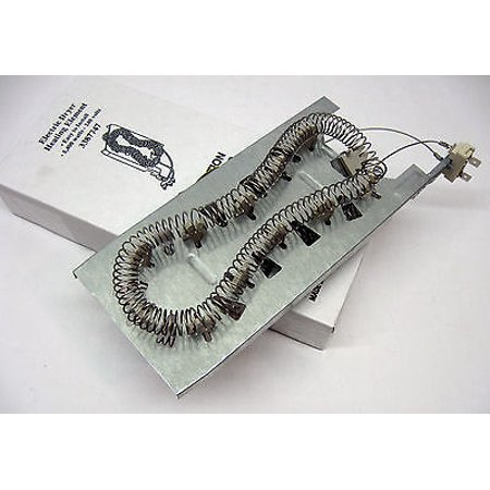 WP3387747 Dryer Heater Heating Element fits Whirlpool Kenmore PS344597 (Kenmore 80 Series Gas Dryer Not Heating Up)