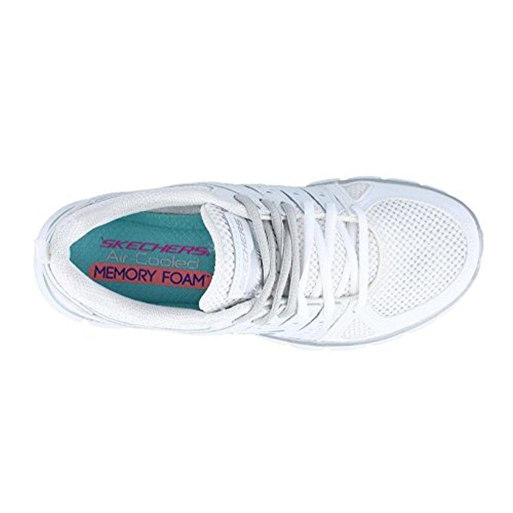 skechers 11963BKW Women's SYNERGY - LOOK BOOK Walking Shoes
