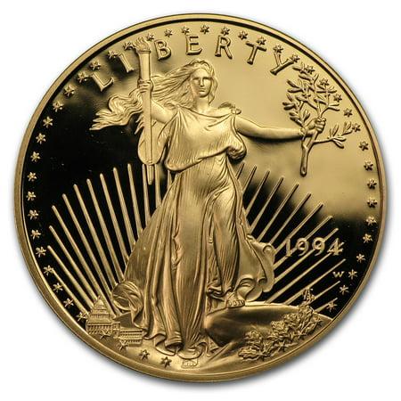 1 oz Proof Gold American Eagle (Random, Capsule