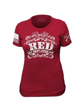 9a2330a8d Product Image Grunt Style The R.E.D Shirt II Ladies T-Shirt