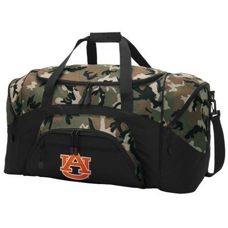 Broad Bay Auburn University Camo Duffel Bag Gym