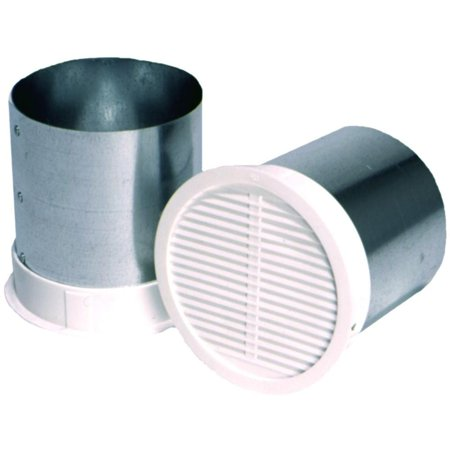 Master Flow 4 in. Eave Vent for Bath Exhaust BFEV4 - New