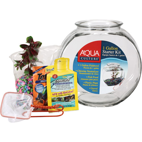 Anchor Hocking Company Premium Fishbowl Starter Kit, 1ct