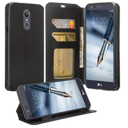63d4313d44a9 Cute Girls Women Pu Leather Wallet Case Compatble for LG Stylo 4 Case