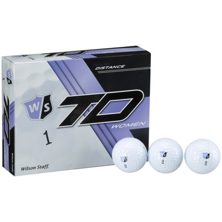 Distance Power Lady Golf Balls (Wilson Staff True Distance Women's Golf Balls, 12 Pack)