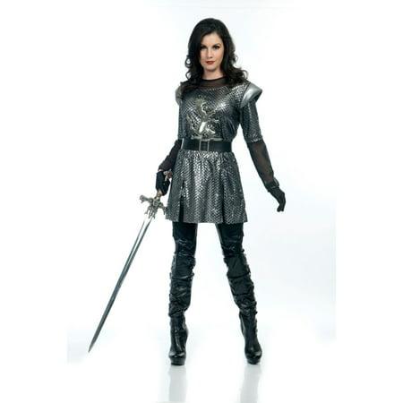 Female Knight Costume (Halloween Female Knight Adult)