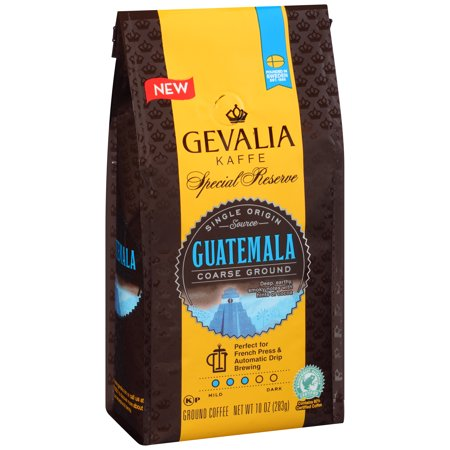 Gevalia Special Reserve Guatemala Coarse Ground Coffee 10 oz