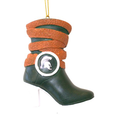 Michigan State Spartans Team Boot Ornament