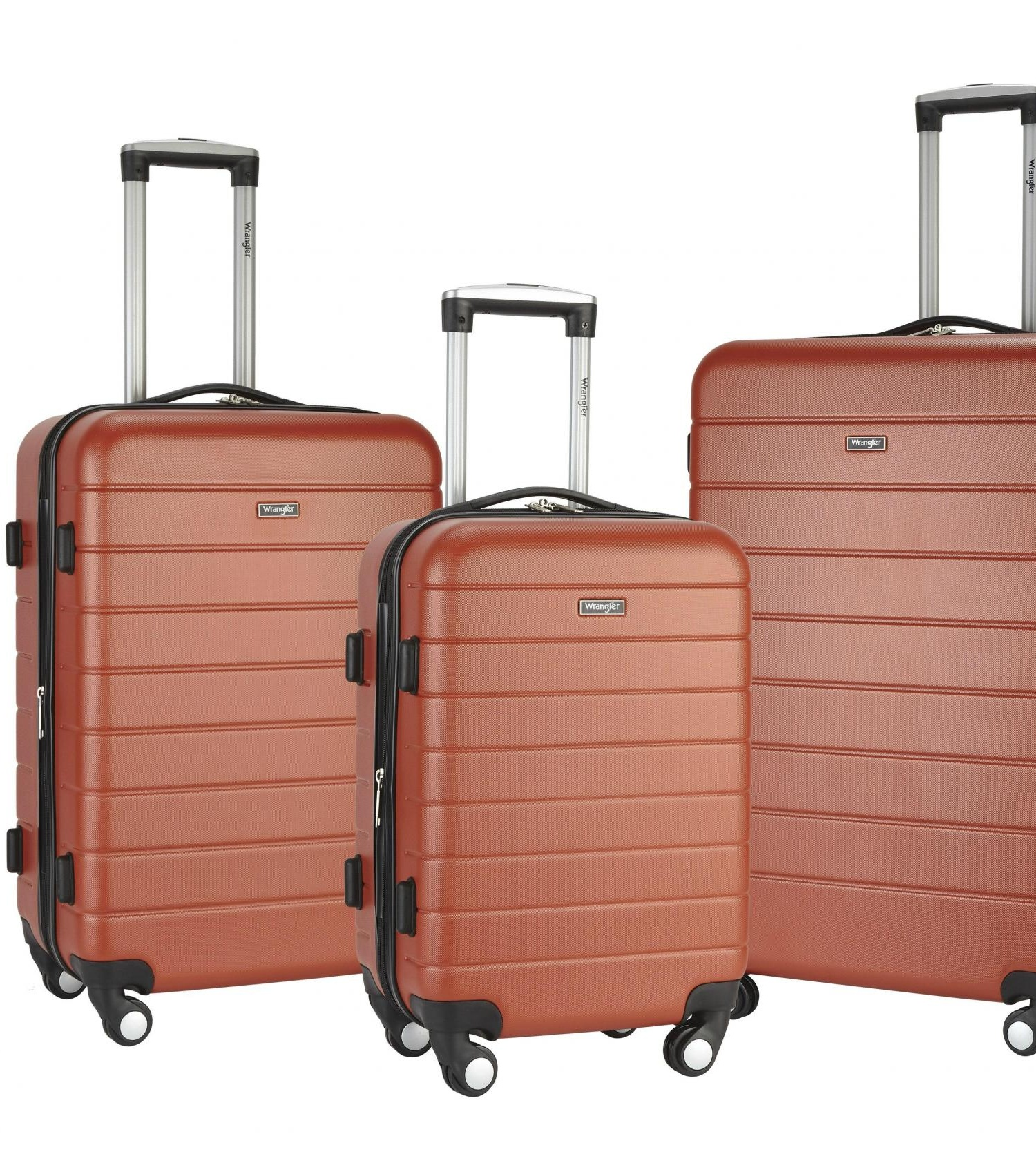 3-N-1 3-Piece Hardside Luggage Collection