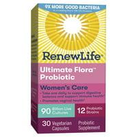 Renew Life - Ultimate Flora Women's Complete Probiotic 90 Billion - 30 Capsules