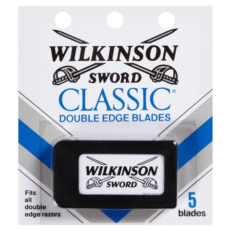 (2 Pack) Wilkinson Sword Men's Double Edge Refill Razor Blades - 5 Count
