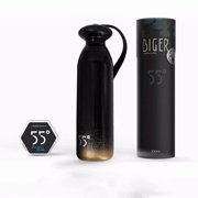 5514OZ Stainless Steel Vacuum Insulated Water Bottle | Thermos Sports Cup Keeps Cold for 24 hours, Hot for 24 hours |Outdoor Sports Travel Flask | Black & Gold