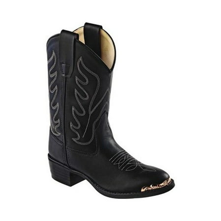 Wild West Boot Store (Children's Old West All Over Man Made Round Toe Cowboy)