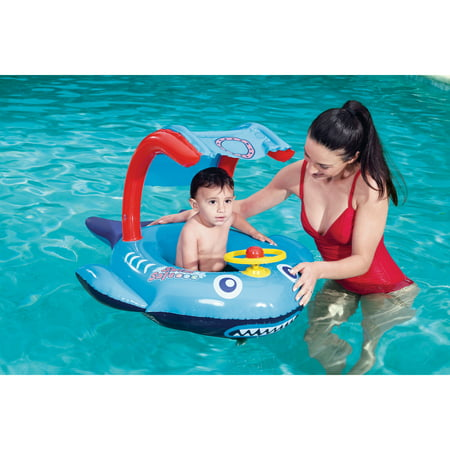 Swim Safe Playful Shark Inflatable Baby - Pool Floaters