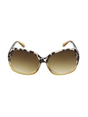 Foster Grant Women's Tort Square Sunglasses M01
