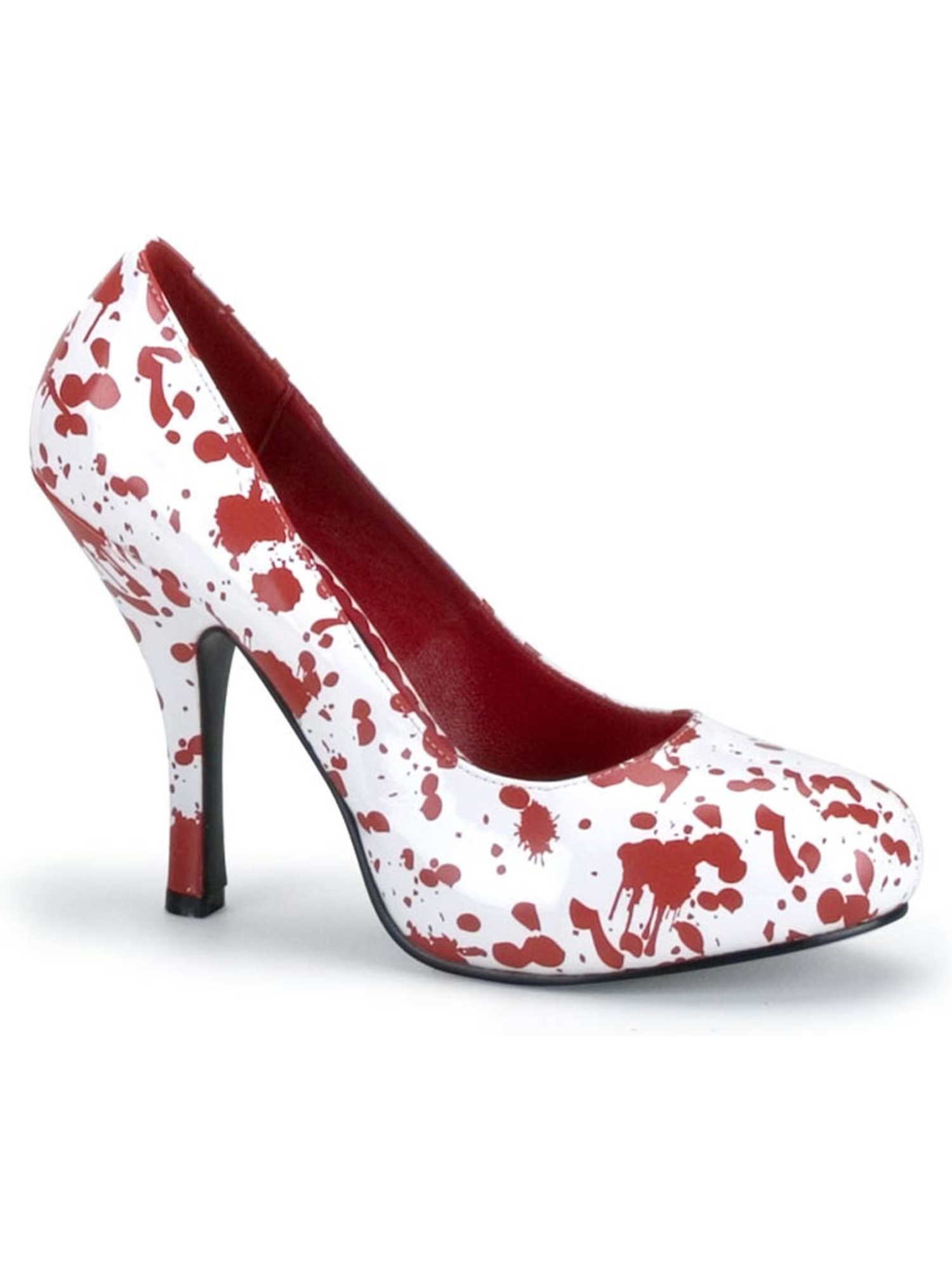 Blood Splatter Shoe Theatre Costumes Shoes White Red
