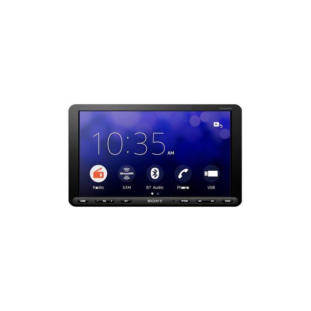 Sony 8.95 Inch Single DIN Touch Screen LCD Media Bluetooth Stereo Radio Receiver