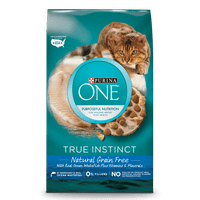 Purina ONE True Instinct Natural Grain-Free With Ocean Whitefish Adult Dry Cat Food, 6.3 lb
