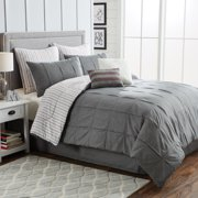 Better Homes and Gardens 8-Piece Box Pleat Comforter Collection