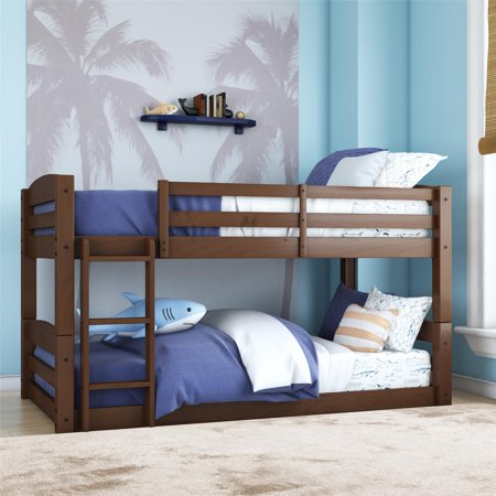 Better Homes and Gardens Tristan Twin Floor Bunk Bed, Multiple
