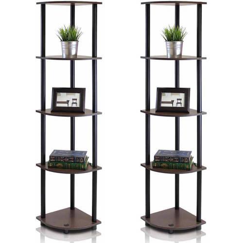 corner racks furniture. furinno 99811 turnntube 5tier corner display rack multipurpose shelving unit racks furniture