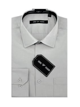 8562789fd15398 Product Image Big Men's Classic Fashion Fit Dress Shirt