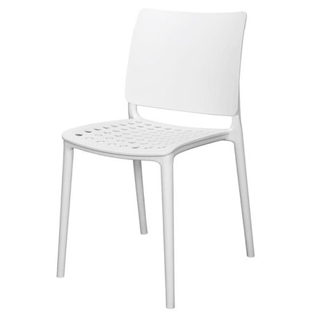 Source Contract SCDC845-WHT Marcay Side Chair White ()