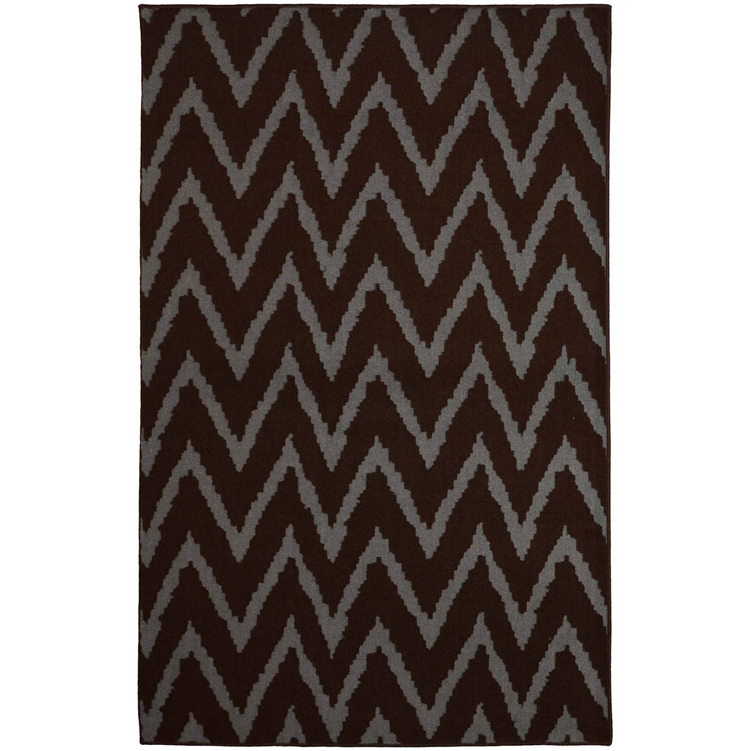NXT-GEN Distressed Zig-Zag Olefin Area Rug