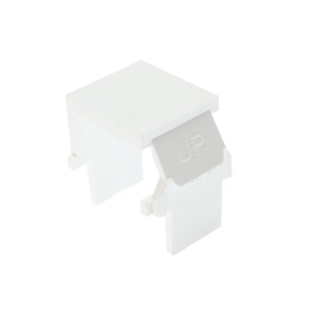 Quickport Blank Inserts (Leviton 40859-BW - Quickport Snap-In Blank Insert White(Pack of)